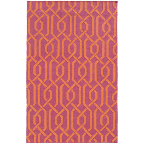 Pantone Universe Matrix 4260M Pink/Orange Area Rug main image