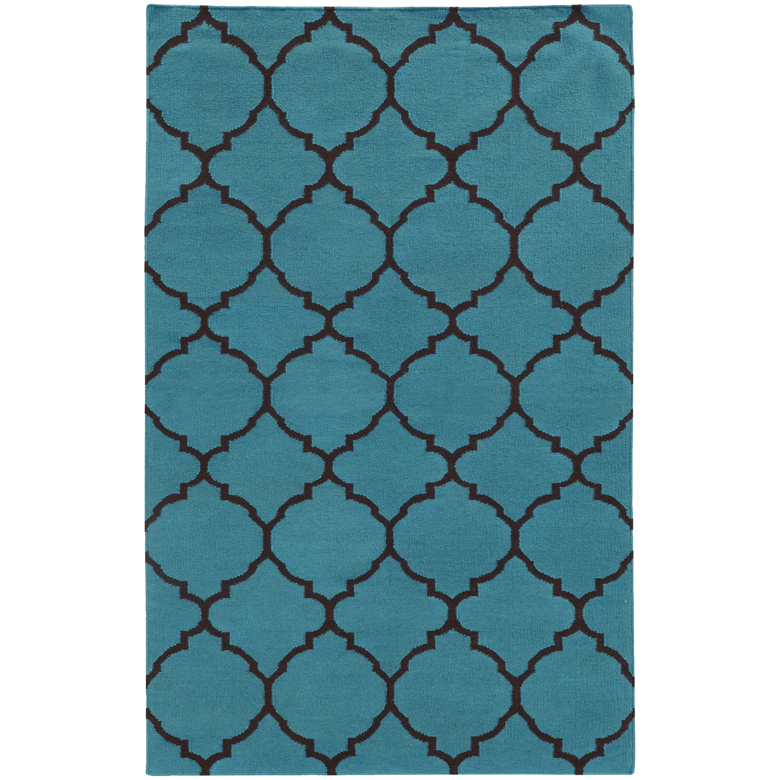 Pantone Universe Matrix 4280S Blue/Charcoal Area Rug main image