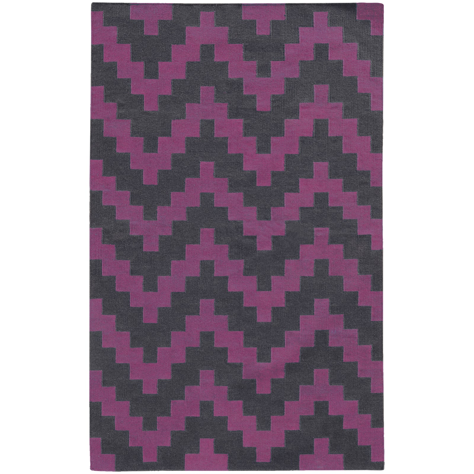 Pantone Universe Matrix 4714K Purple/Grey Area Rug main image