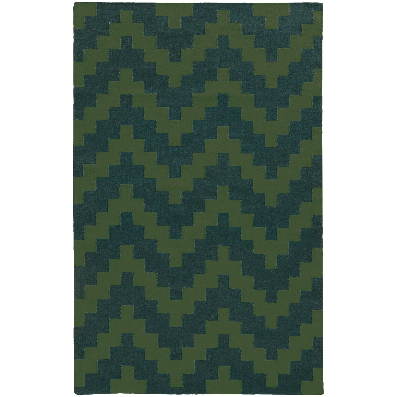 Pantone Universe Matrix 4714L Green/Blue Area Rug main image