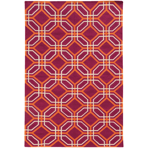 Pantone Universe Matrix 4722g Pink Orange Area Rug Incredible Rugs