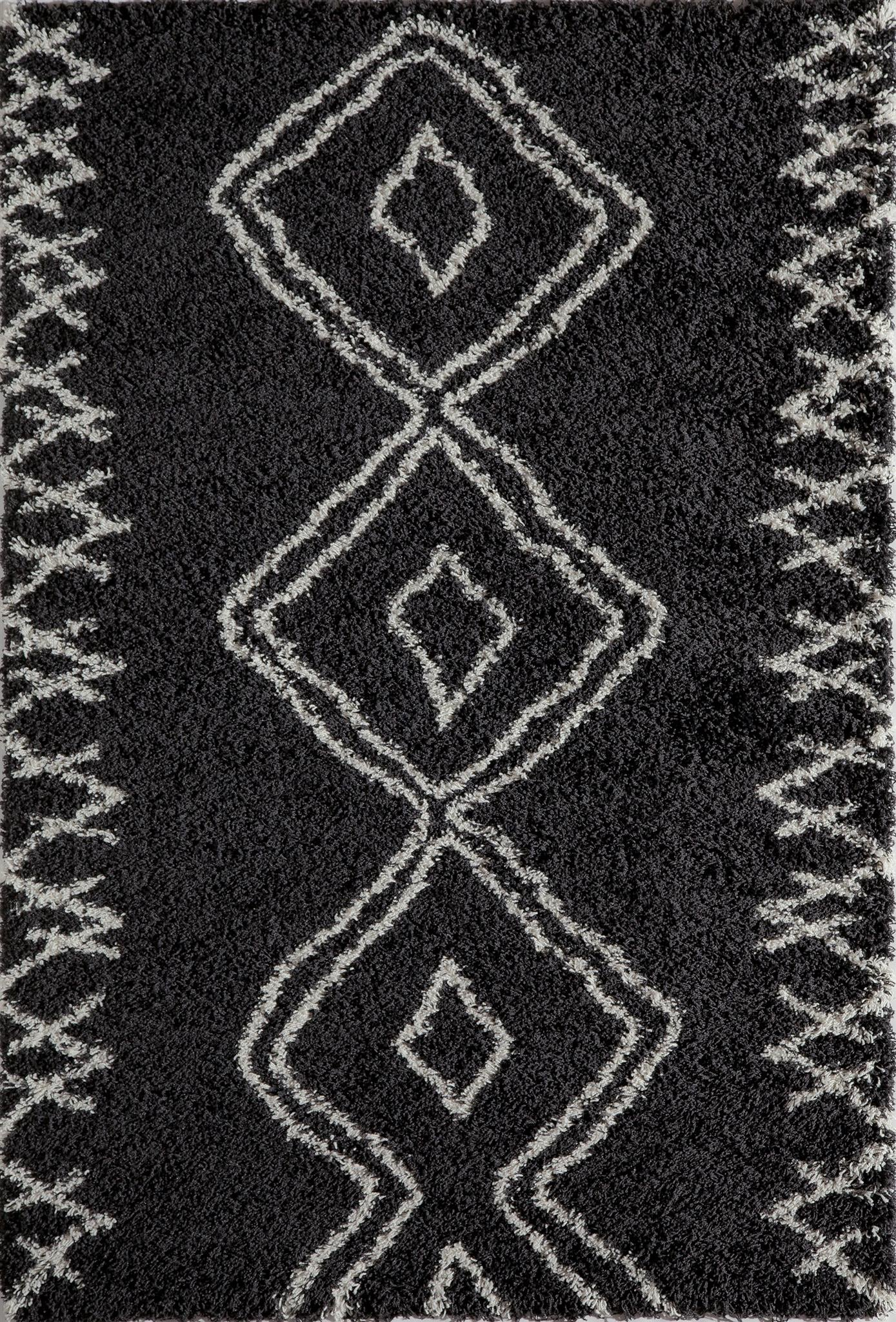 Momeni Maya MAY-1 Black Area Rug main image