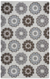 Rizzy Maggie Belle MB9538 Grey Area Rug