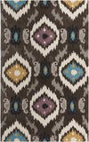 Surya Mamba MBA-9003 Chocolate Area Rug