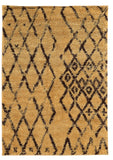 Linon Moroccan Collection RUGMC02 Camel/Brown Area Rug