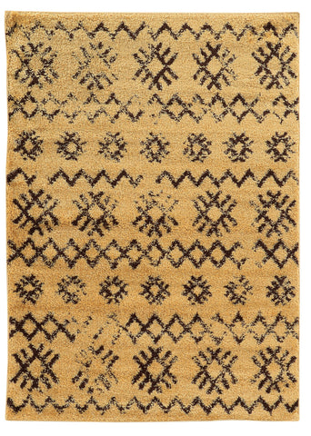 Linon Moroccan Collection RUGMC04 Camel/Brown Area Rug main image