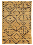 Linon Moroccan Collection RUGMC05 Camel/Brown Area Rug