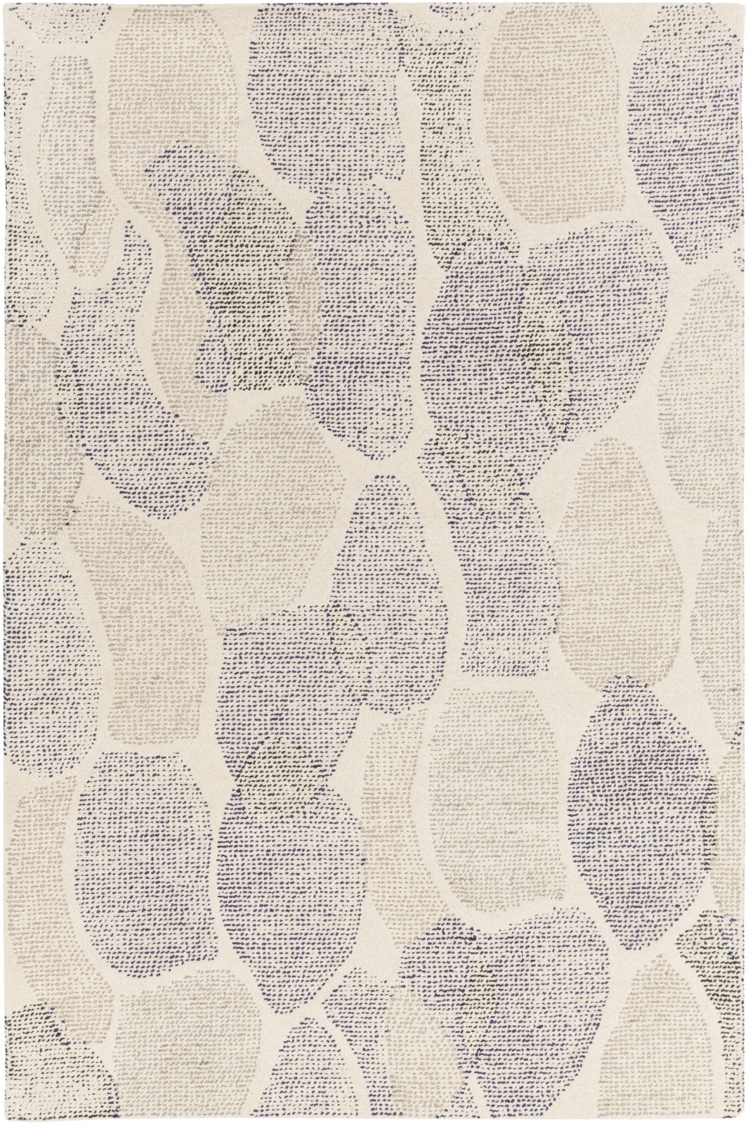 Melody MDY-2010 White Area Rug by Surya