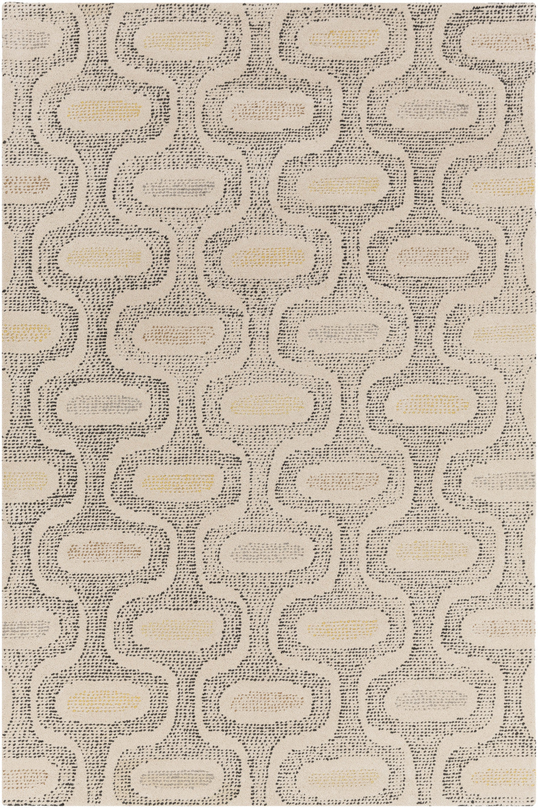 Melody MDY-2012 White Area Rug by Surya