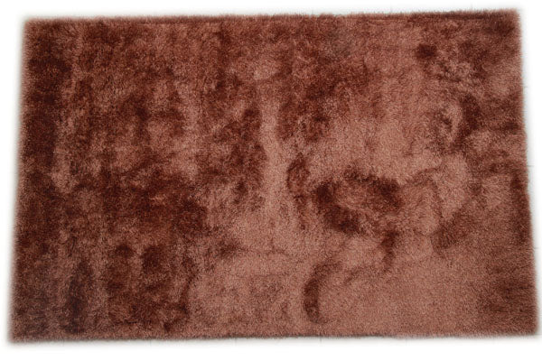 JazzyFloors Mason Solid Light Brown Area Rug main image