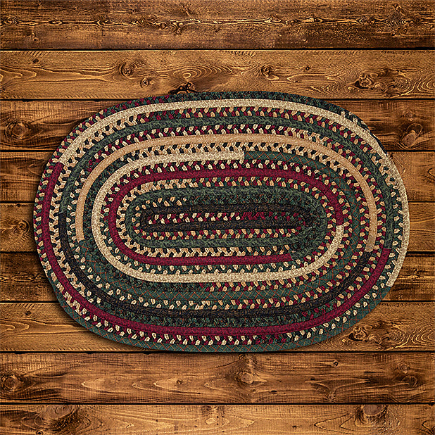 Colonial Mills Market Mix MM01 Oval Winter Area Rug main image