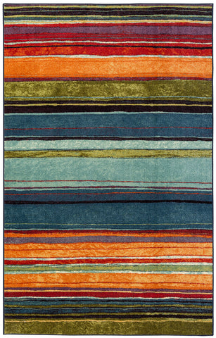 Mohawk Home New Wave Rainbow Multi Area Rug main image