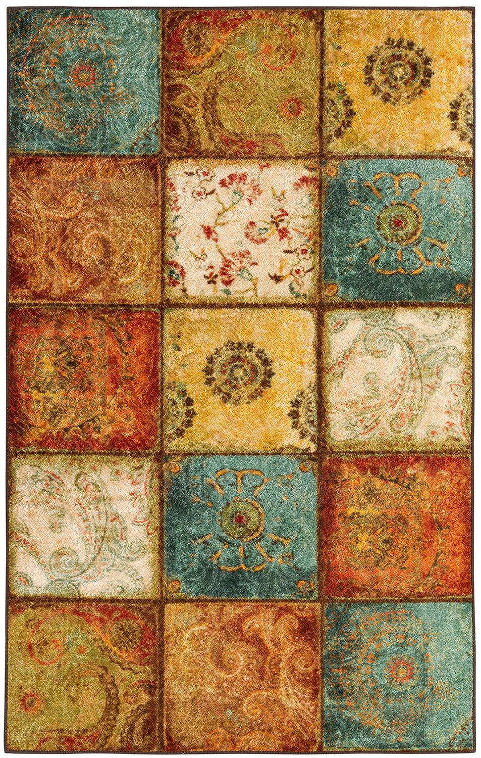 Mohawk Home Free Flow Artifact Panel Multi Area Rug main image