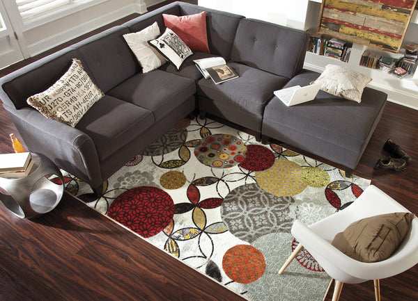 Mohawk Home Strata Give And Take Kaleidoscope Area Rug Incredible Rugs And Decor