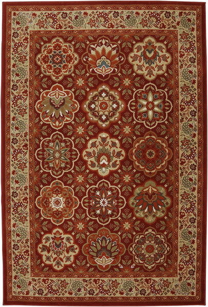 Mohawk Home Symphony Copperhill Madder Brown Area Rug