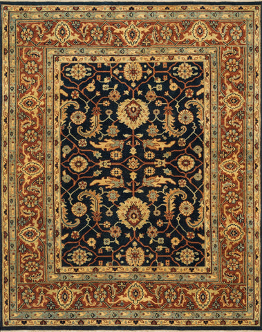 Loloi Morrow MW-02 Dark Navy / Rust Area Rug main image