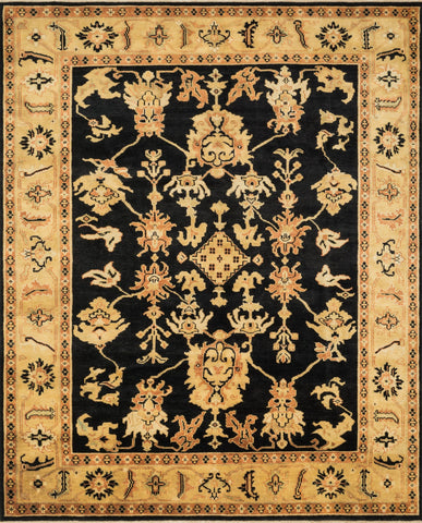 Loloi Morrow MW-03 Black / Light Gold Area Rug main image