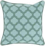 Surya Moroccan Printed Lattice MPL-003 Pillow 18 X 18 X 4 Down filled
