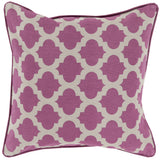 Surya Moroccan Printed Lattice MPL-005 Pillow 22 X 22 X 5 Down filled
