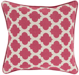 Surya Moroccan Printed Lattice MPL-006 Pillow 22 X 22 X 5 Poly filled