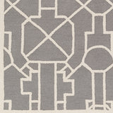 Artistic Weavers Marigold Leighton Gray/Ivory Area Rug Swatch