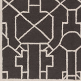 Artistic Weavers Marigold Leighton Onyx Black/Ivory Area Rug Swatch