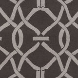 Artistic Weavers Marigold Serena Onyx Black/Light Gray Area Rug Swatch
