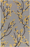 Artistic Weavers Marigold Caroline Gray/Yellow Area Rug main image