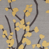 Artistic Weavers Marigold Caroline Gray/Yellow Area Rug Swatch