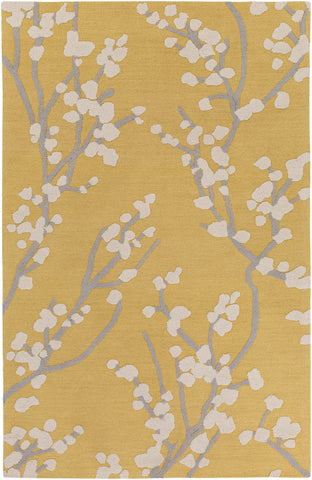Artistic Weavers Marigold Caroline Yellow/Gray Area Rug main image