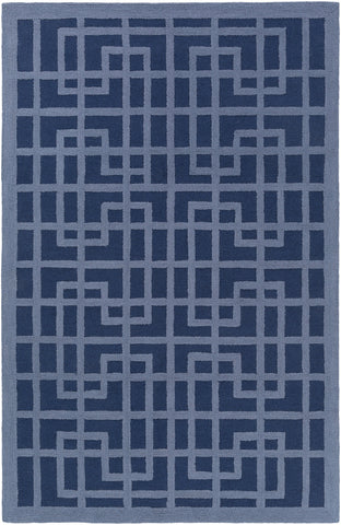 Artistic Weavers Marigold Lawson Navy Blue/Denim Blue Area Rug main image
