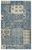 Rizzy Maison MS8663 Blue Area Rug