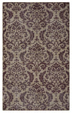 Rizzy Maison MS8678 Burgundy Area Rug