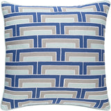 Surya Mod Steps MSP001 Pillow by Florence Broadhurst