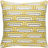 Surya Mod Steps MSP004 Pillow by Florence Broadhurst
