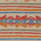 Artistic Weavers Mayan Star Poppy Red/Tangerine Area Rug Swatch