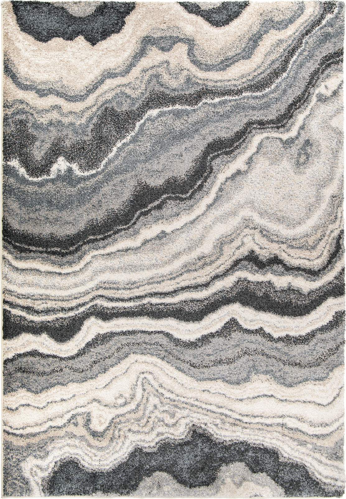 Orian Rugs Mystical Cascade Taupe Inkwell Area Rug by Palmetto Living main image