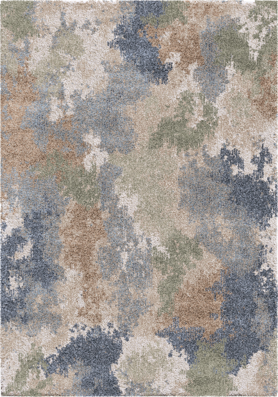 Orian Rugs Mystical Dreamy Muted Blue Area Rug by Palmetto Living main image