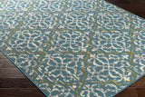 Artistic Weavers Myrtle Rio Turquoise/Ivory Area Rug Corner Shot