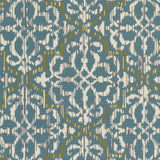 Artistic Weavers Myrtle Rio Turquoise/Ivory Area Rug Swatch