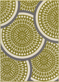 Artistic Weavers Myrtle Barcelona Lime Green/Ivory Area Rug main image