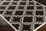 Artistic Weavers Myrtle Honolulu Chocolate Brown/Ivory Area Rug Corner Shot