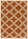 Artistic Weavers Myrtle Honolulu Dark Orange/Ivory Area Rug main image