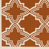 Artistic Weavers Myrtle Honolulu Dark Orange/Ivory Area Rug Swatch
