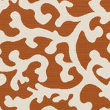 Artistic Weavers Myrtle Vancouver Bright Orange/Ivory Area Rug Swatch
