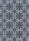 Artistic Weavers Myrtle Scarborough Navy Blue/Gray Area Rug main image