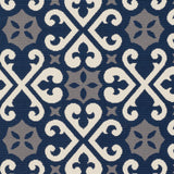 Artistic Weavers Myrtle Scarborough Navy Blue/Gray Area Rug Swatch