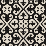 Artistic Weavers Myrtle Scarborough Onyx Black/Ivory Area Rug Swatch