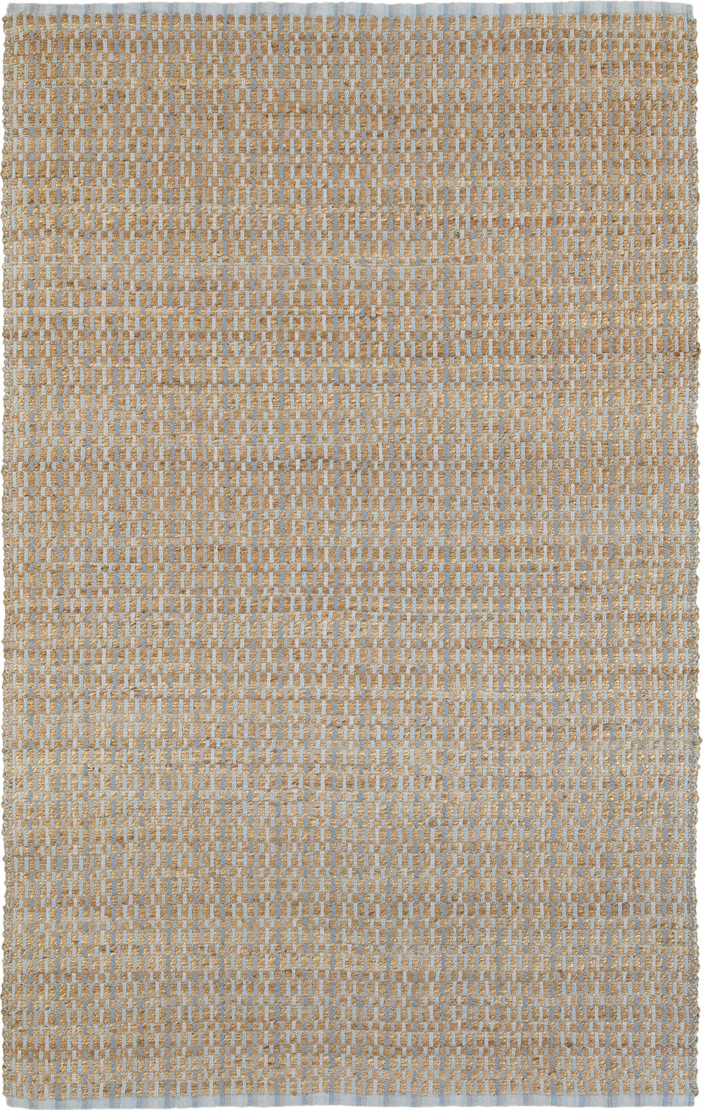 LR Resources Natural Fiber 3307 Sky Blue Area Rug main image
