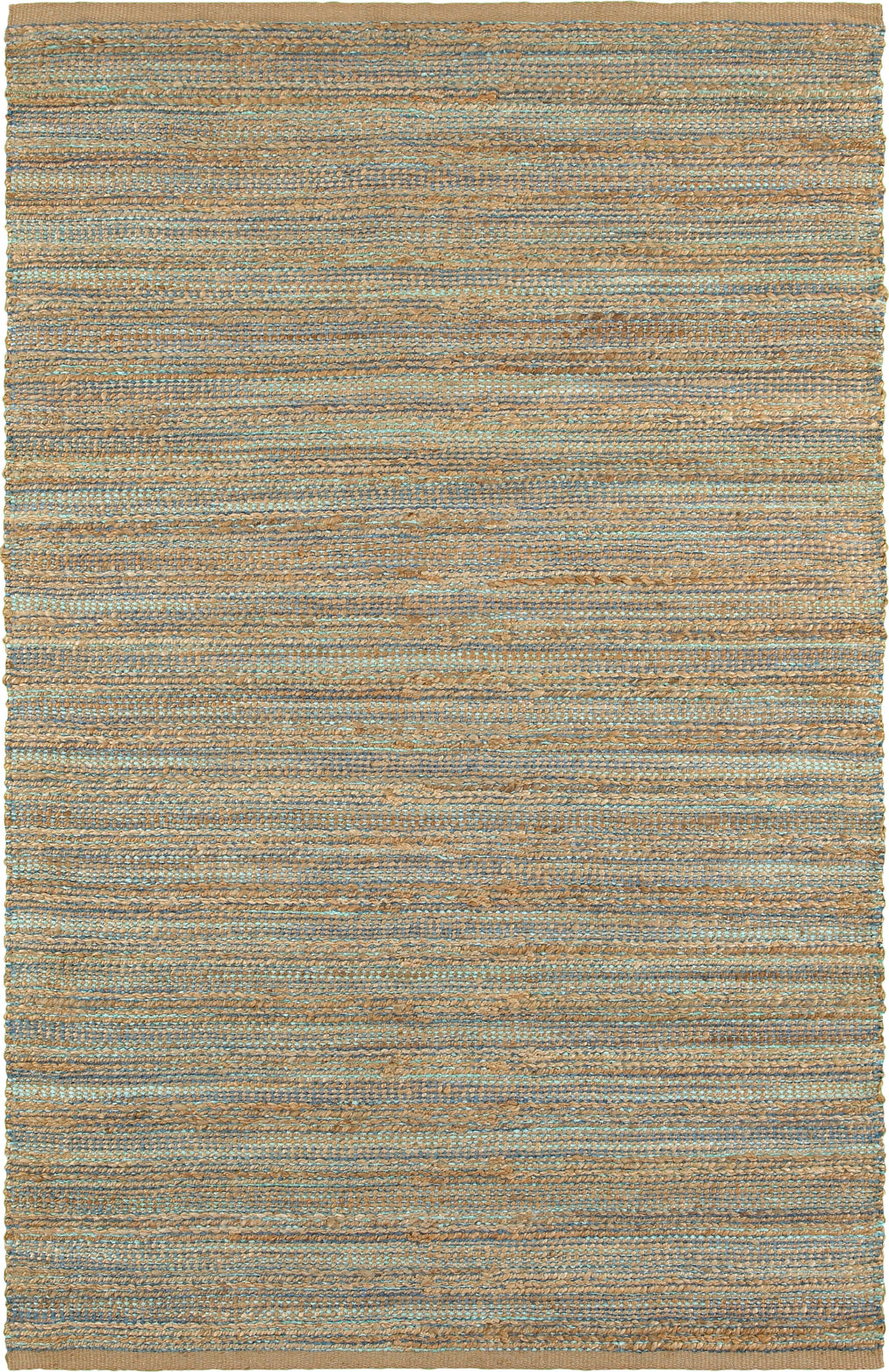 LR Resources Natural Fiber 3314 Teal Area Rug main image